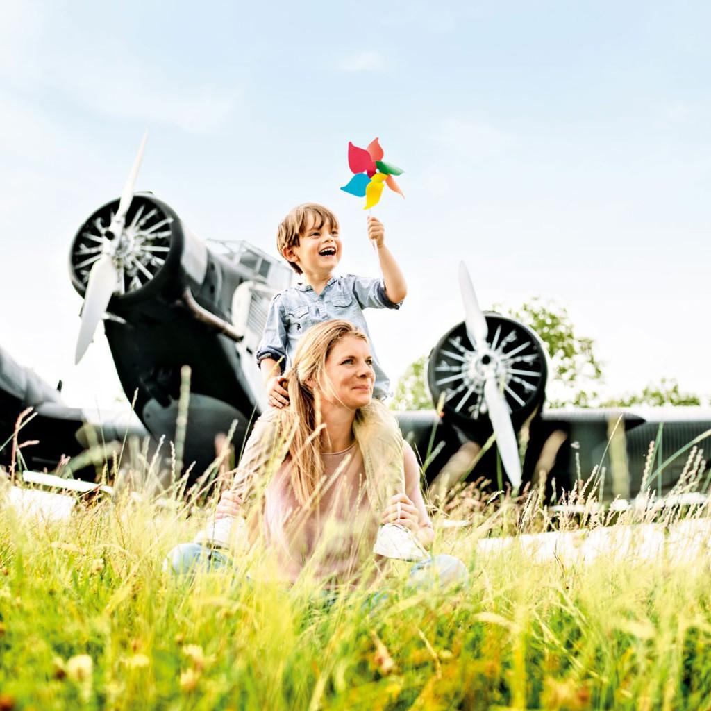Besucherpark Flughafen